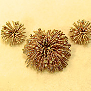 Bergere Pin Earrings Set Fourth Of July Fireworks On A Summers Eve