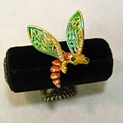 Enchanting Bee Pin From The Forest Of The Imagination