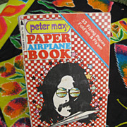 Peter Max Paper Airplanes Book rated A plus lowest price on the web