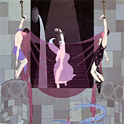 Erte' the dream behind this The Chaste Susanne Erte from the play Joseph Joseph