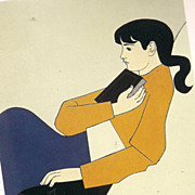 "Will Barnet  print ""the Book""  Will Barnet Will's art went global Icon of work winne"