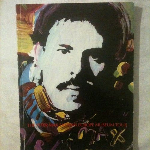 Peter Max Eastern European Museum Tour A Retrospective Book Aplus rare value