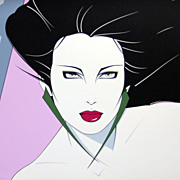 PATRICK NAGEL print 15 from the man artist who died too youn SERIGRAPH 1 only