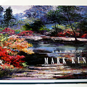 Mark King hand signed in gold paint hard cover full color 150 page book