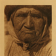 "Edward S. Curtis (American, 1868-1952)""A Southern Diegueno Woman"" (from The North Am"