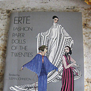 "ERTE' Book hand signed in pen with a COA  from7Arts Ltd. ""Postcards"""