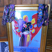 Max Angel hand signed with remarks  for SPCA 24 by 36 inches large
