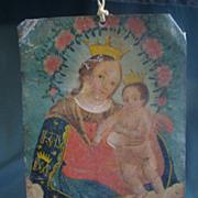 19th Century Mexican Retablo