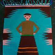 Navajo Germantown Figural Mat