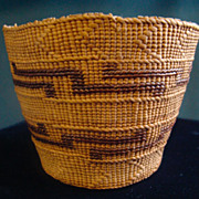 Northwest Coast Tlingit Basket