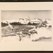 "Stow Wengenroth ""Sea Dunes"" Lithograph"