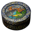 Marcel Goupy Enamel Decorated Lidded Box