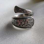 Sterling Towle Spoon Ring