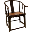 Elmwood Horseshoe Armchair