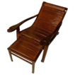 Antique Chinese Nanwood reclining chair