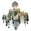 Custom Made, One of a Kind Bavarian Crystal Chandelier