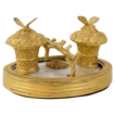 19th Century French Ormolu Inkwell