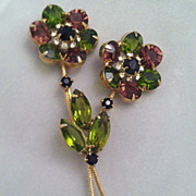 SALE Juliana Flower Brooch Delizza & Elster Beauty