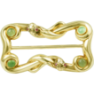 Antique 14k yellow gold snake buckle Circa:1890/1900
