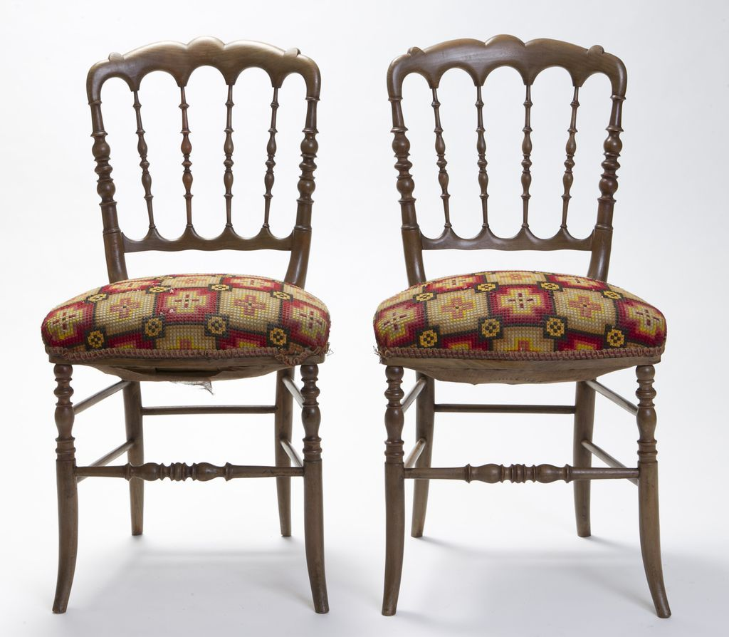 French Chairs Circa 1850 Paris from doriswarehouse on Ruby