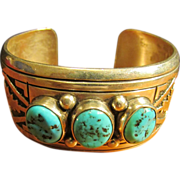 Tommy Singer Native American Cuff Bracelet