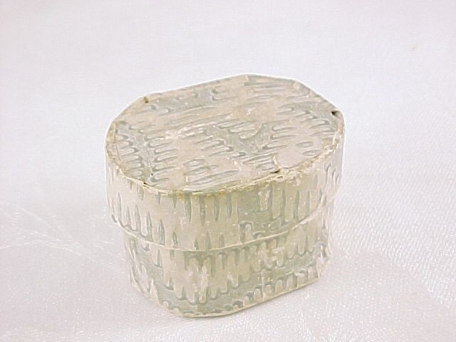 Antique Miniature Wallpaper Box, Top of Stack