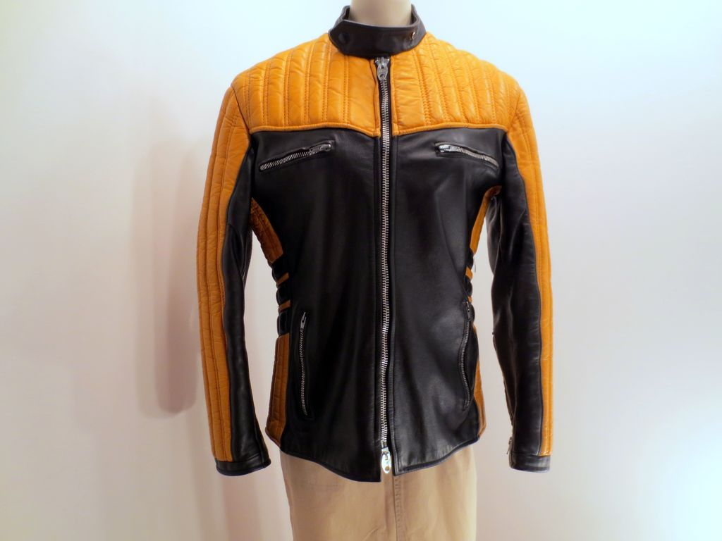 Find mens black and gold leather jacket at ShopStyle. Shop the latest collection of mens black and gold leather jacket from the most popular stores -.