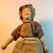 Early 2-Part Head Schoenhut Milkmaid