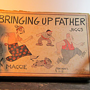 Schoenhut Maggie and Jiggs w/Original Box