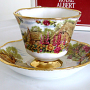 Royal Albert Tranquil Garden Cup and Saucer