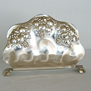 SOLD German Silverplated Napkin Holder