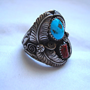 SALE PENDING Sterling Silver Ring By Maker Richard Begay