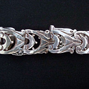 SALE Los Ballesteros Mexico Sterling Silver Bracelet