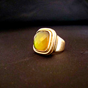 SALE Signed Steven Vaubel Ring