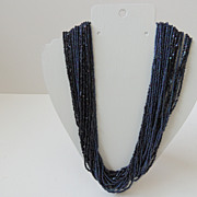 Multi Strand Beaded Necklace