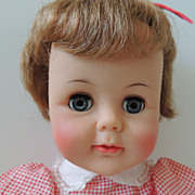 1960s Ideal 16 Inch Kissy Doll