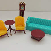 Marx Living Room Doll House Furniture