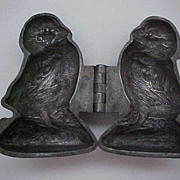 Vintage Pewter Ice Cream Mold
