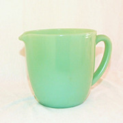 Fire King Jadeite Pitcher 20 oz .Milk Pitcher Jug EXCELLENT!