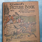 'R. Caldecott's Picture Book No. 1', by Randolph Caldecott - ca 1900-1910