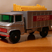 Matchbox #11d - Mercedes Scaffolding Truck - ca. 1969