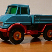 Matchbox #49b - Mercedes Unimog - ca. 1967-69