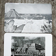 Set of 3 Chichen-Itza B/W Postcards - RP - Mexico - ca. mid-late 1950's