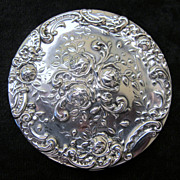 SOLD Vintage Gorham Sterling Powder Compact
