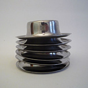 Vintage Stainless Steel Egg Cups Set of 6