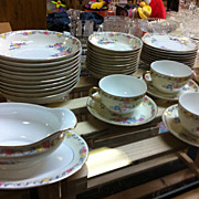 Super Value Noritake Coltonia Fine China Set Japan Super Sale 60+ pc
