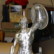 1961 Fairbanks Sculpture - Chevrolet Parts Manager Award