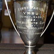 1923 Young People's Religious Union Trophy