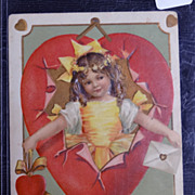 c1900 With Love and Devotion Postcard