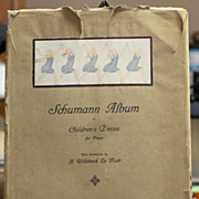 1st Edition 1913 Schumann Album of Children's Pieces for Piano